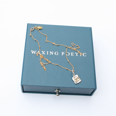 Waxing Poetic Chain Gold Filled Necklace